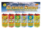 Gushing Smoke 6 Pack*