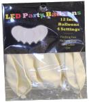 LED White Balloons